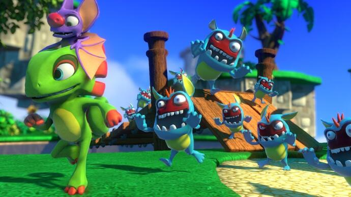 Yooka-Laylee to launch DRM-free on GOG