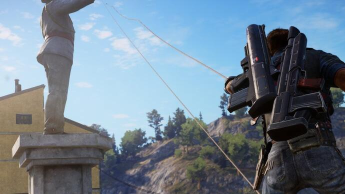 Toneladas de gameplay de Just Cause 3
