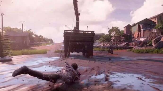 Watch Uncharted 4's full 14-minute E3 gameplay demo
