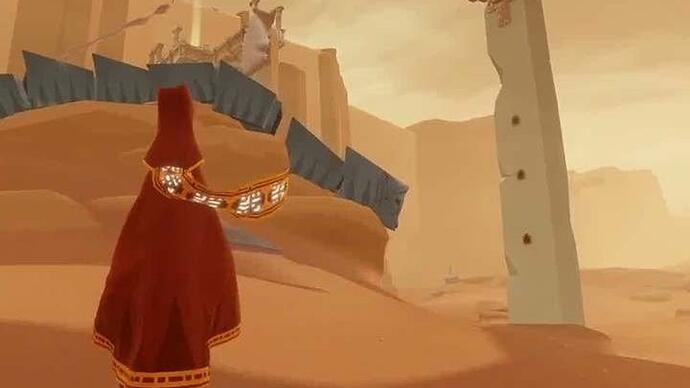 Video: Journey - PS3 vs. PS4 gameplay and graphics comparison