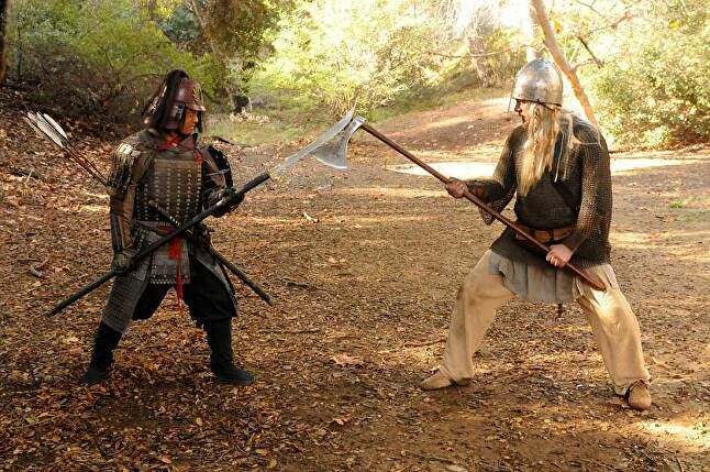 Slitherine also produced the program which simulated the battles for TV's deadliest warrior.