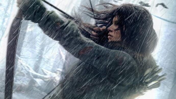 Rise of the Tomb Raider gameplay footage features actual tombs
