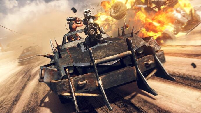 20 minutos de gameplay de Mad Max
