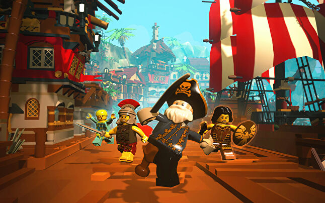 LEGO Minifigs Online might have featured one of the world's most recognised toy brands, but not in the partnerships it shared with other massive IP.