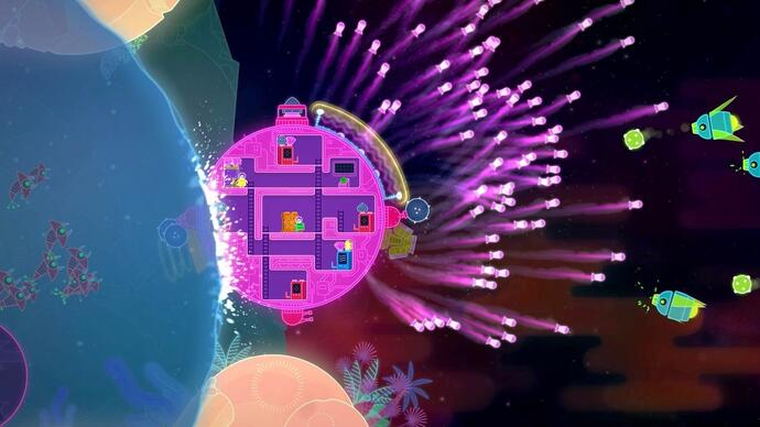 Lovers in a Dangerous Spacetime sets a release date night