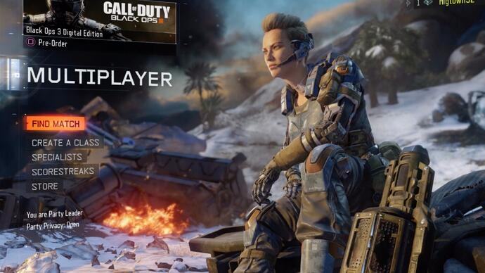 Video: Ian plays the Black Ops 3 beta, is rusty