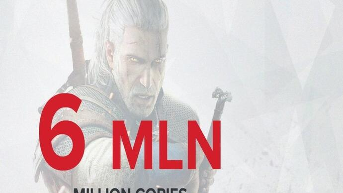 The Witcher 3 sells 6m copies in six weeks