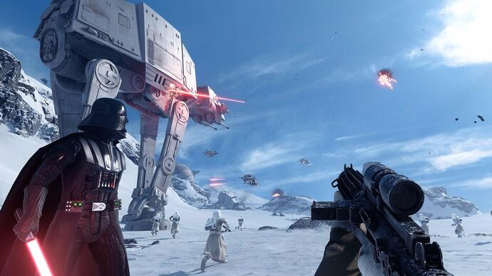 Star Wars Battlefront beta out earlyOctober
