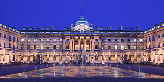 London's Somerset House, where Playhubs is based, is quite the location. Playhubs offices used to house the HMRC, along with several billiard rooms and a rifle range.