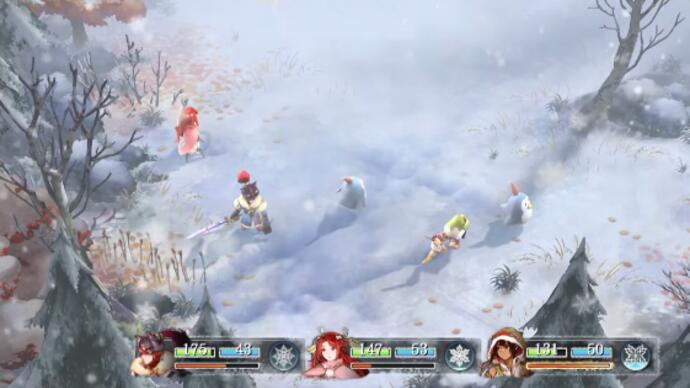 Square Enix's mysterious RPG Project Setsuna debuts gameplayfootage