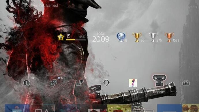 Bloodborne Platinum trophy holders now get an exclusive theme