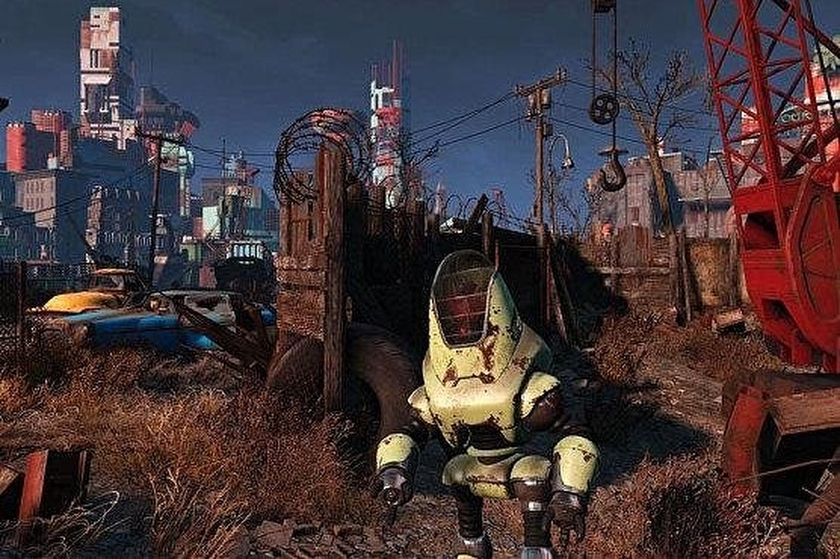 Fallout 4 - Out of Time, Codsworth, Vault 111, Sanctuary, Concord