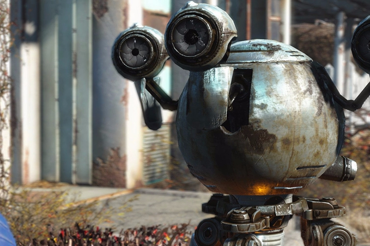 Dota 2 to receive Fallout 4's Mister Handy Announcer Pack