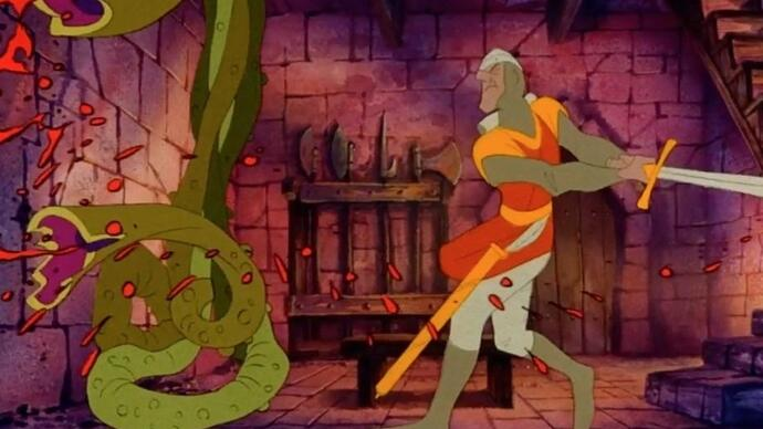 Don Bluth launches Dragon's Lair movieKickstarter
