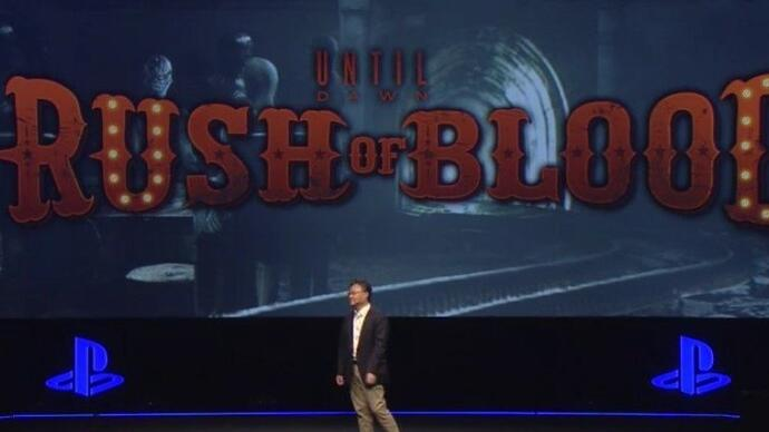 Until Dawn: Rush of Blood announced for PlayStationVR