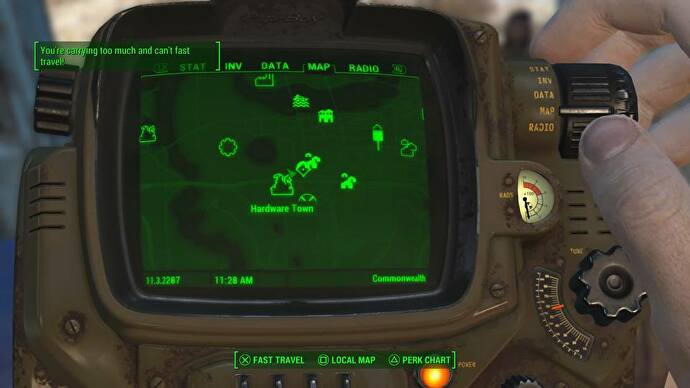 Perhaps I was playing Fallout 4 wrong after all.