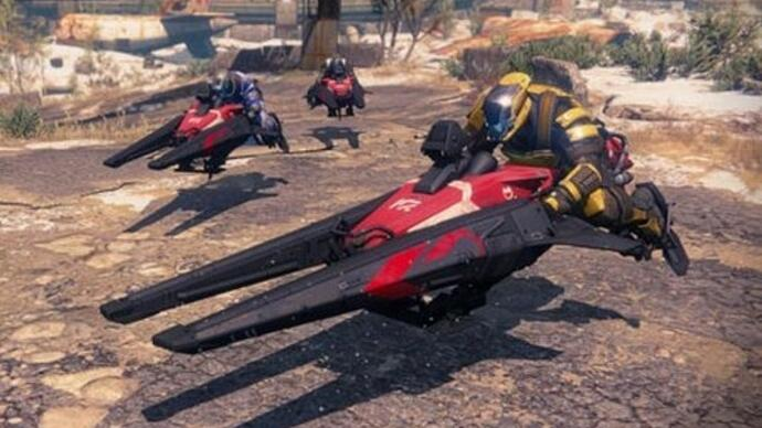 Mit Patch 2.1 für Destiny startet morgen die Sparrow Racing League