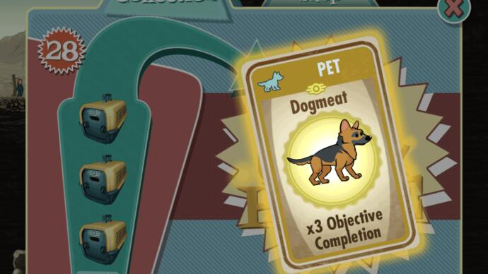 Fallout Shelter update adds pets