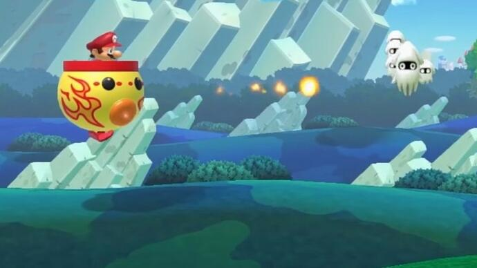 Update Super Mario Maker voegt o.a. Fire Koopa Clown Car toe