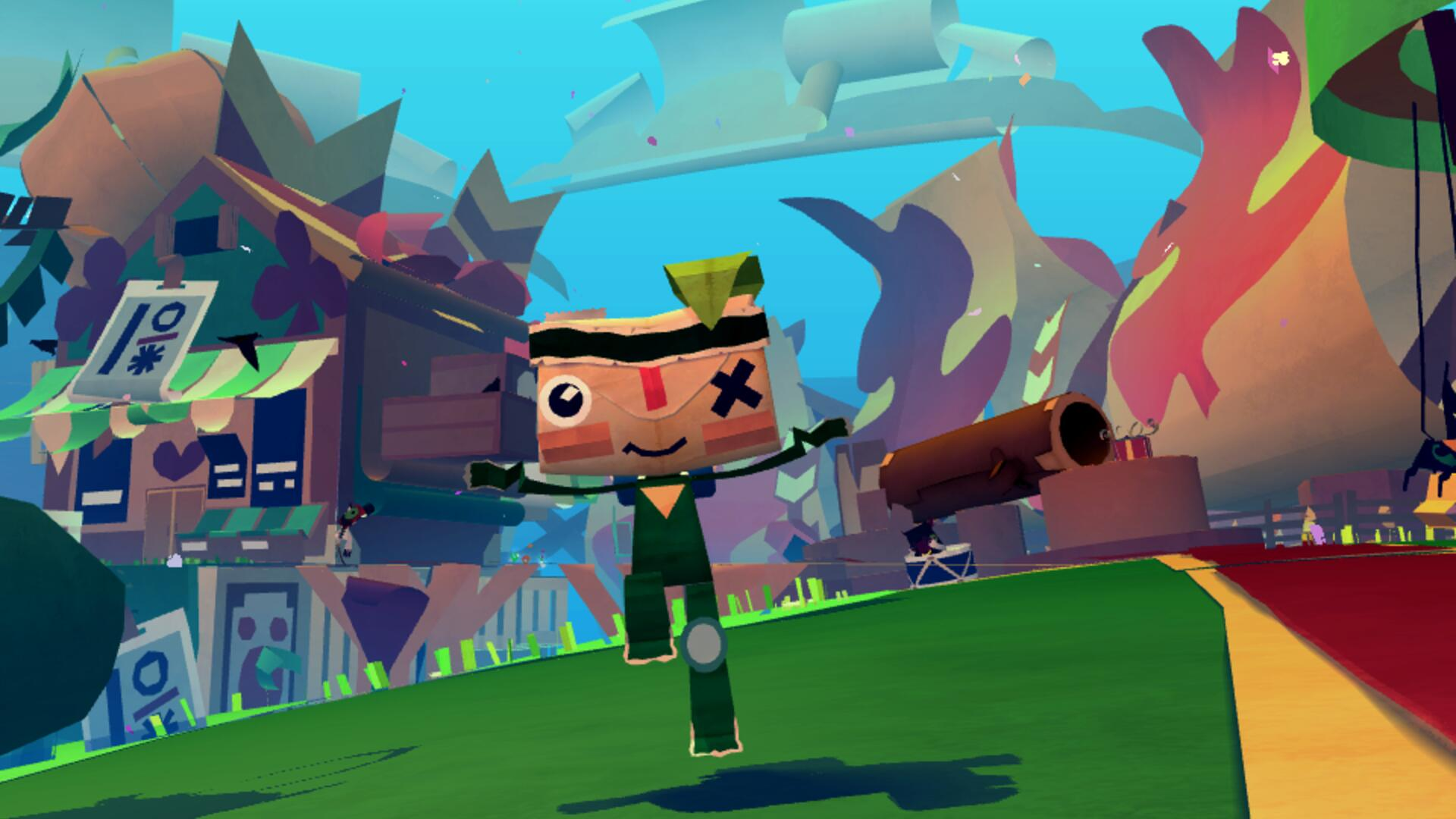 Tearaway PS Vita Review: Giddily in Love With a Squishy Papercraft World