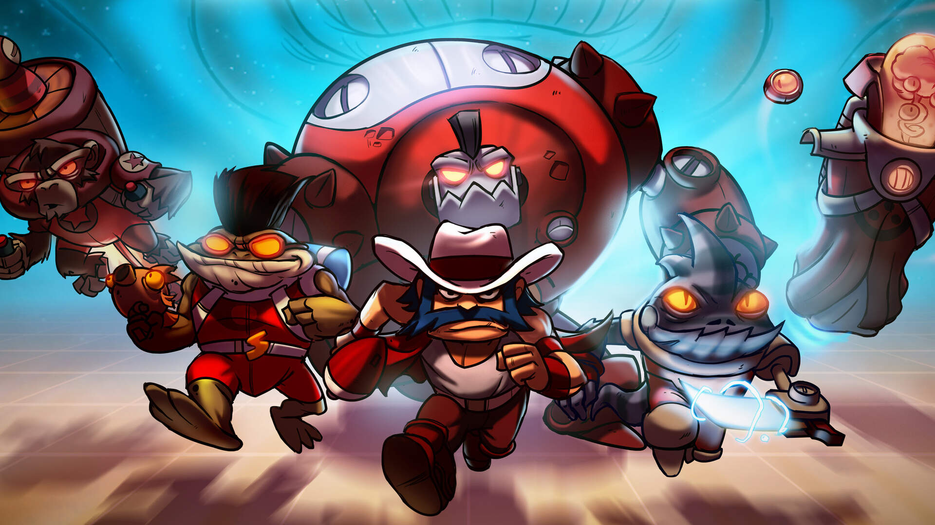 Awesomenauts Gets Charitable with New Skin