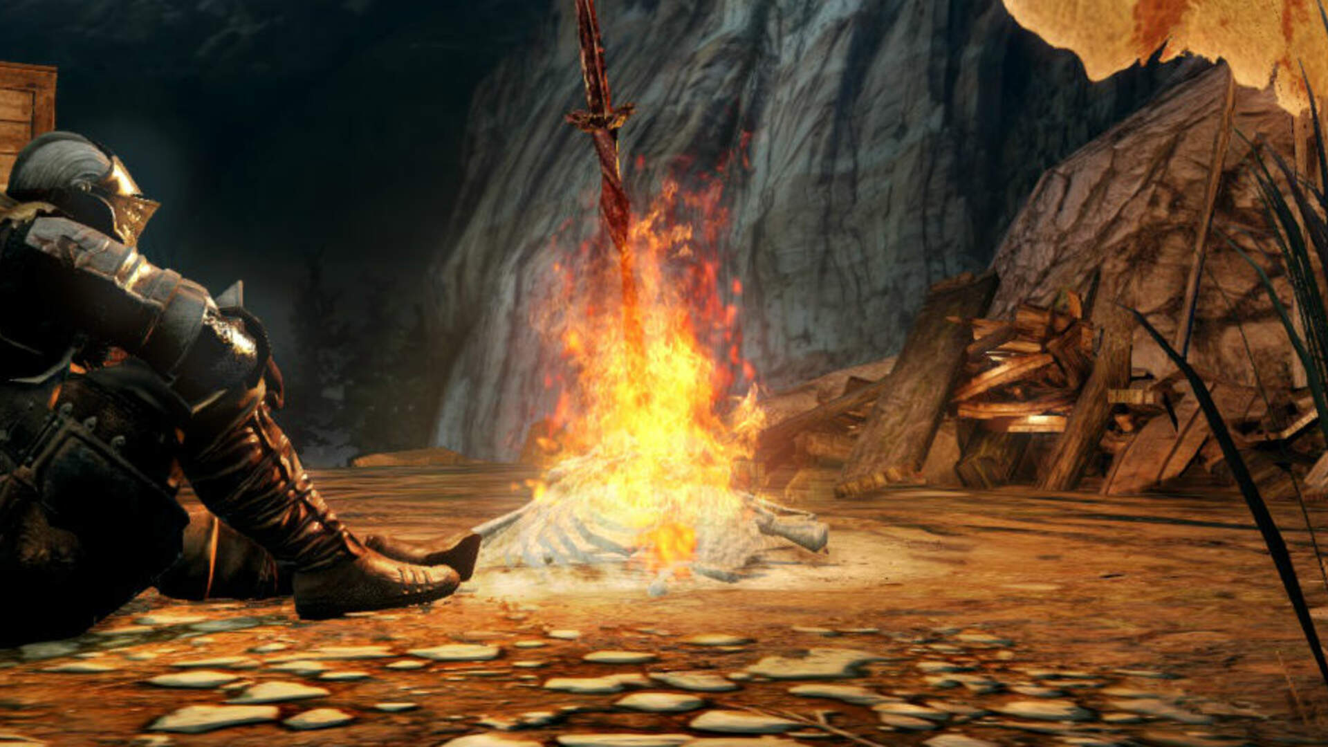 Dark Souls 2 Guide: No-Man's Wharf, Beat the Flexile Sentry