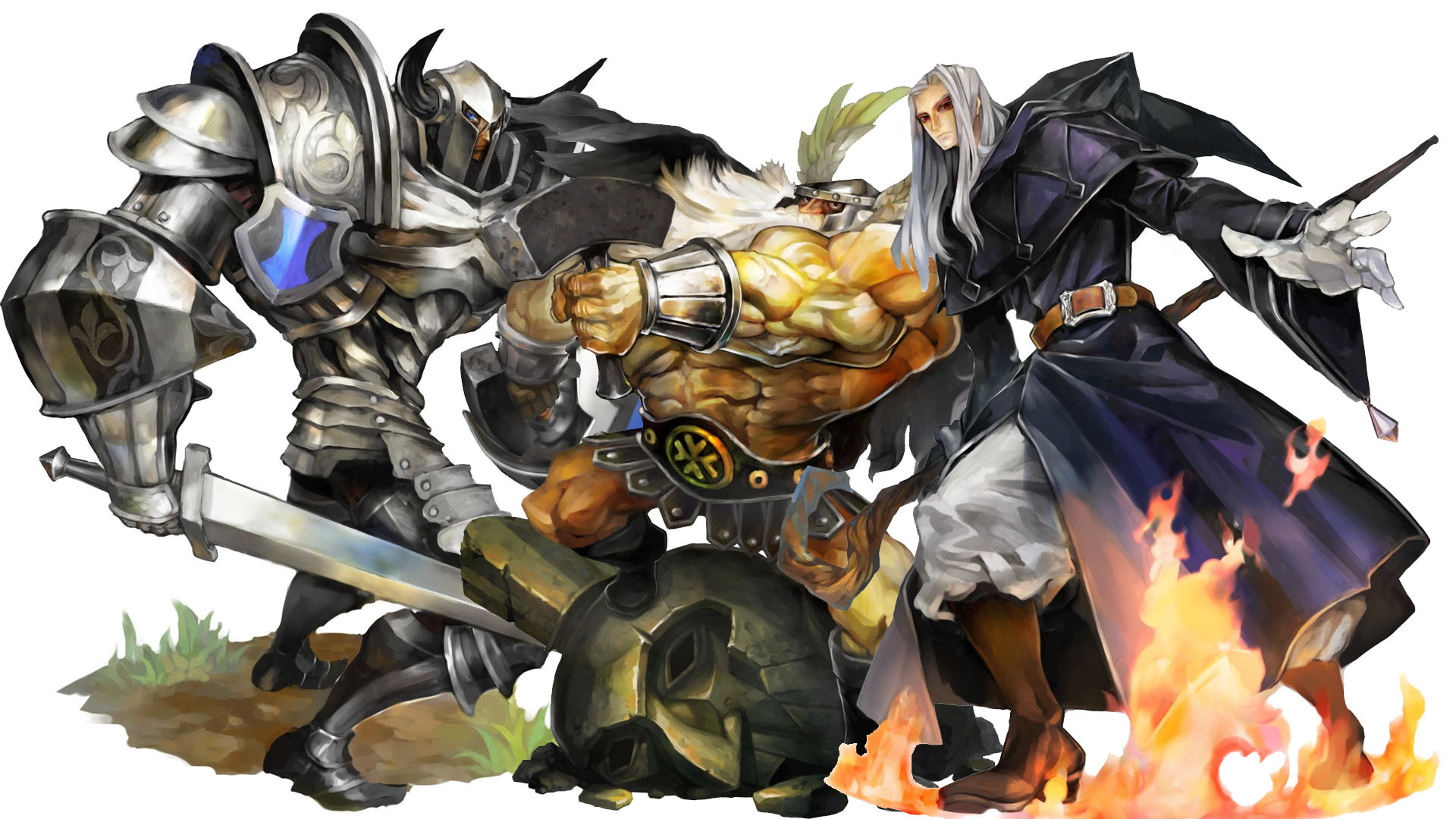 Comparison Of Dragon S Crown Concept Art From 1998 And Its