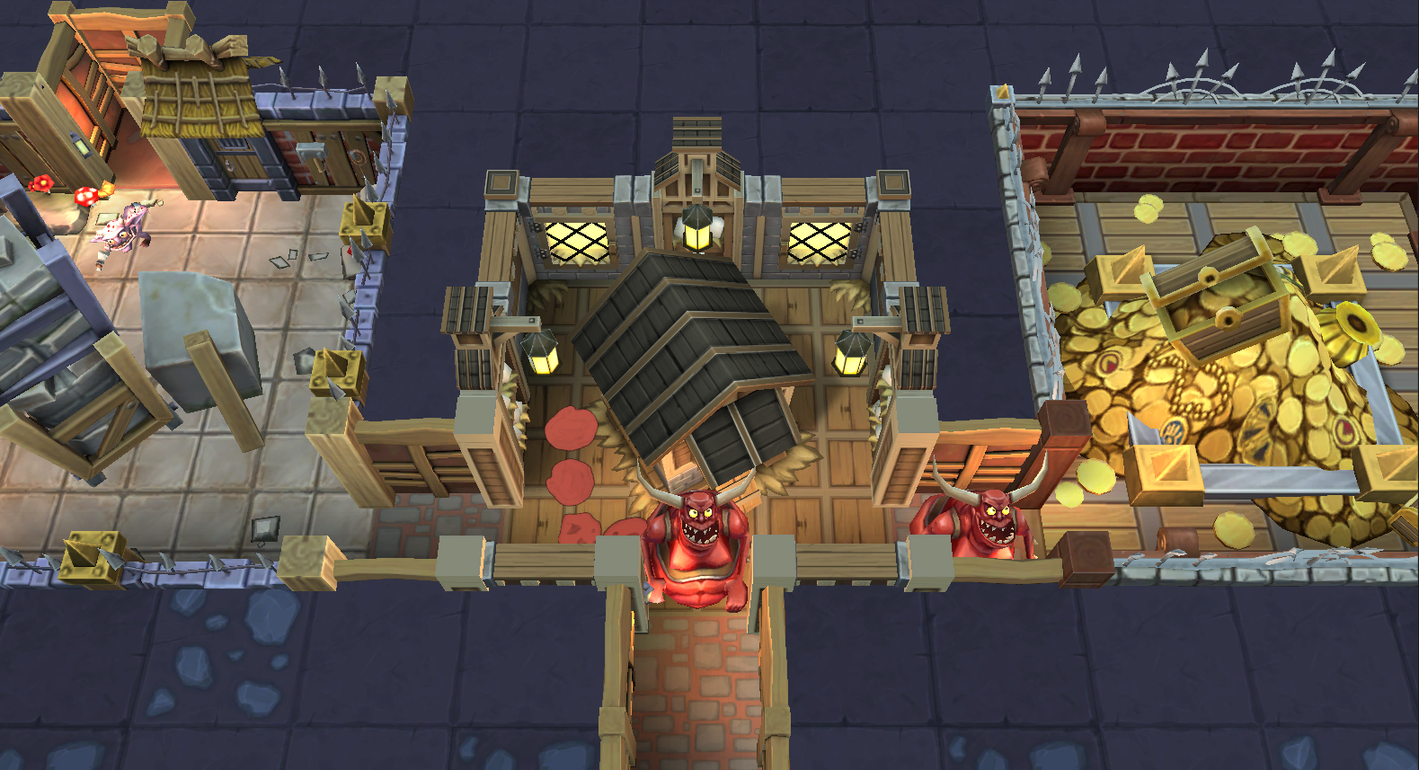 dungeon keeper mobile cheats