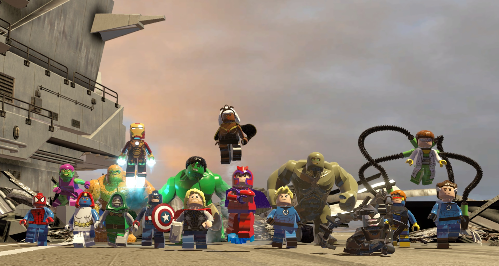 How many heroes are in lego marvel superheroes review usgamer voltagebd Gallery