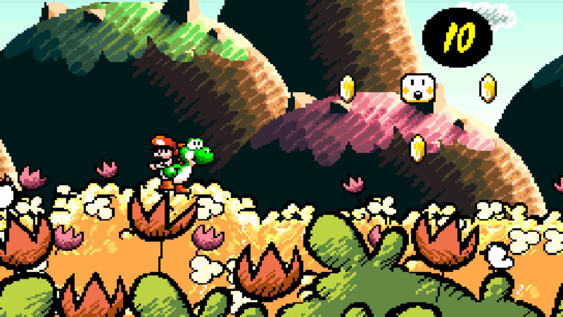 Yoshi's Island's Hand-Drawn Art Style Was Done Pixel by Pixel