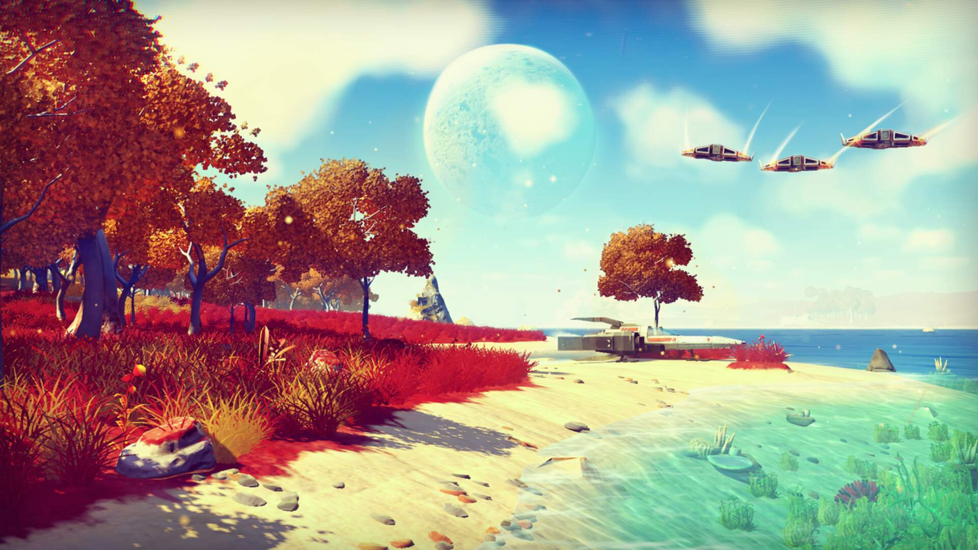 From Us to You! Delves Deep Into No Man's Sky, PlayStation Neo, and Project AM2R