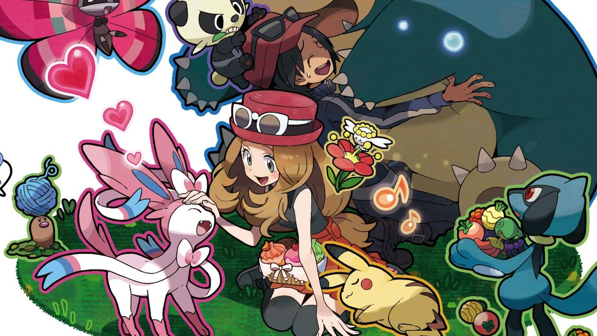 Pokémon X and Y: Three Trainers, Three Perspectives