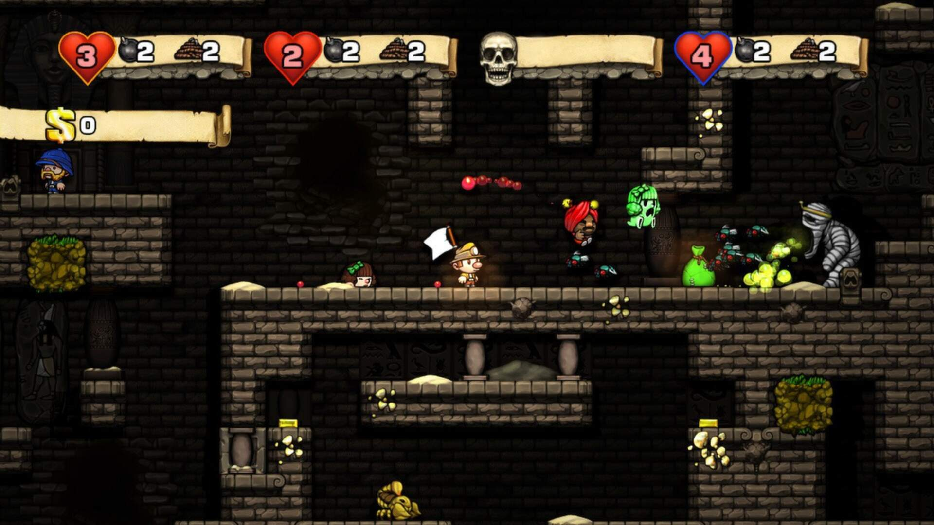 Learning Vital Life Skills from Spelunky