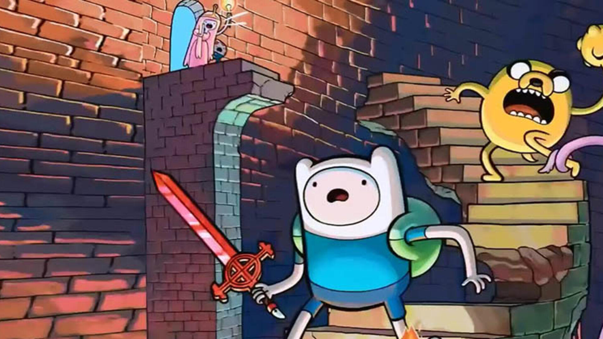 Adventure Time: Explore the Dungeon Because I DON'T KNOW Wii U Review