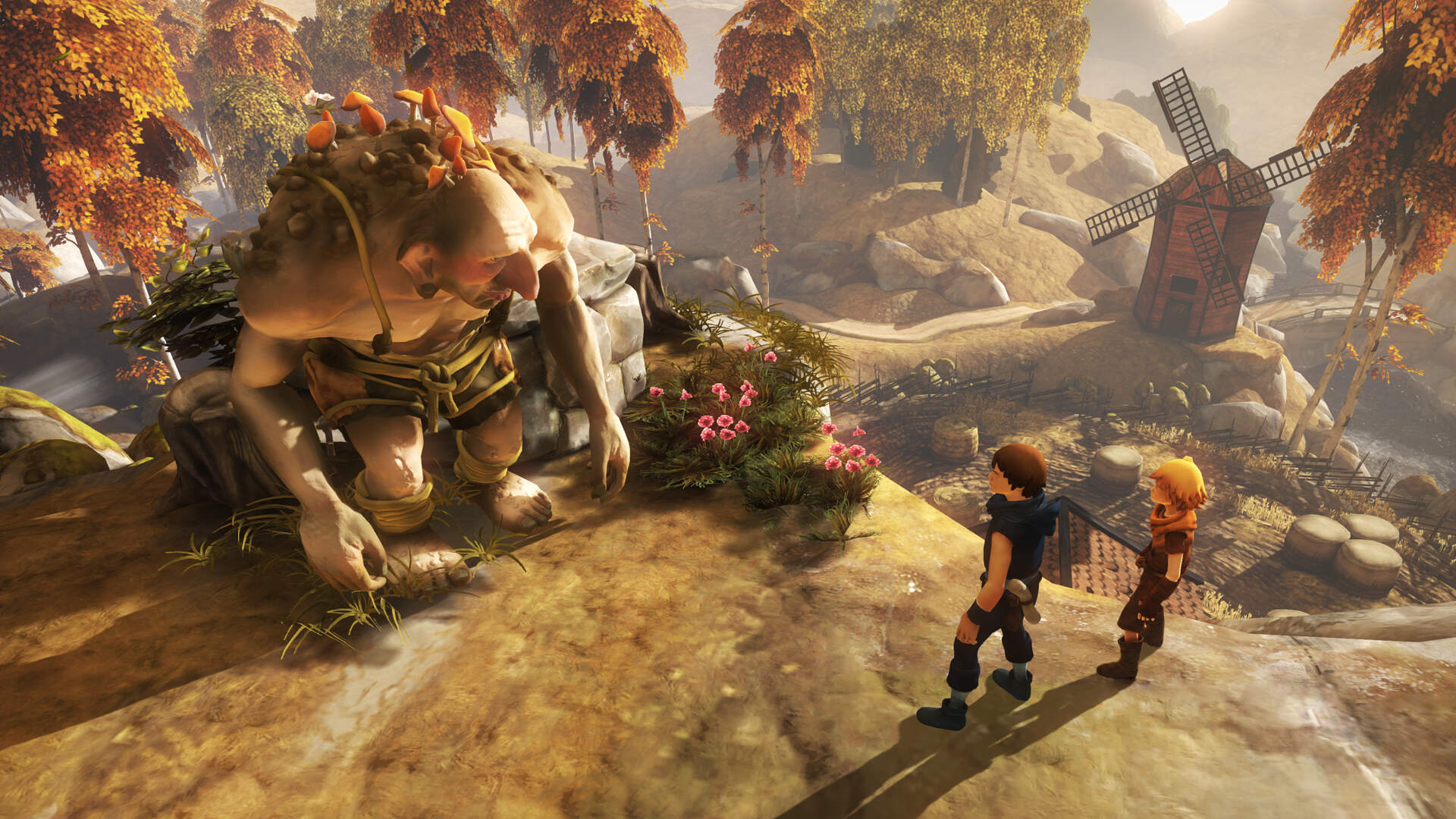 Brothers A Tale Of Two Sons Is Coming To Switch With Co Op And