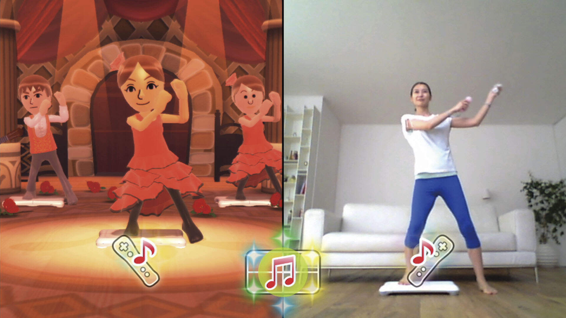 How Does Wii Fit U Compare to Good Old-Fashioned Exercise?