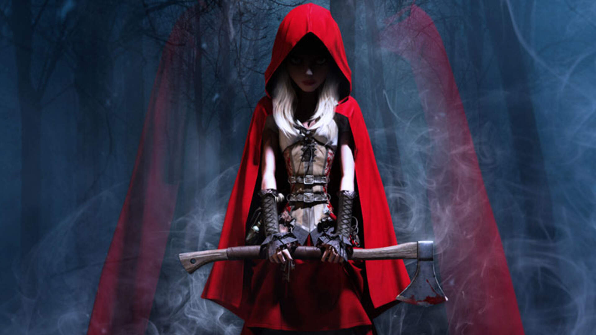 Woolfe: The Red Hood Diaries Looks Deliciously Dark