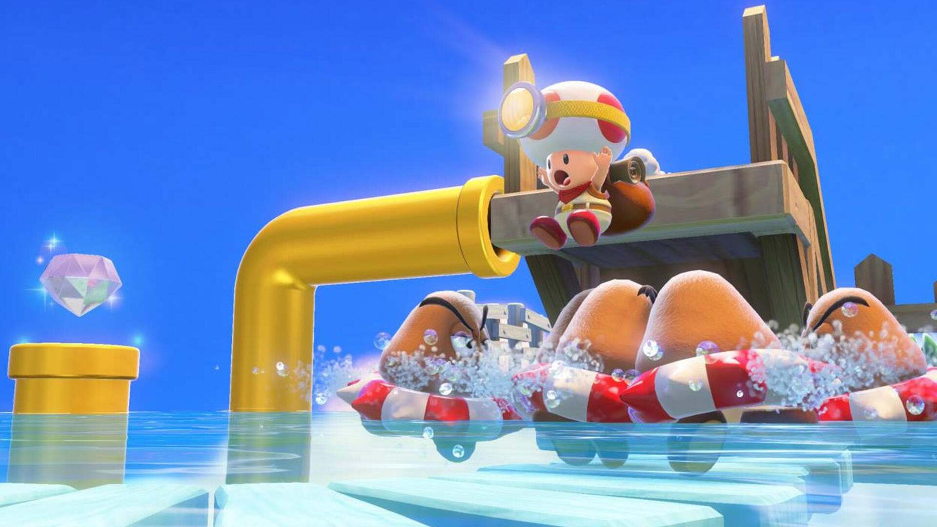 Captain Toad for the Switch Has a Treasure Trove of Unused Levels