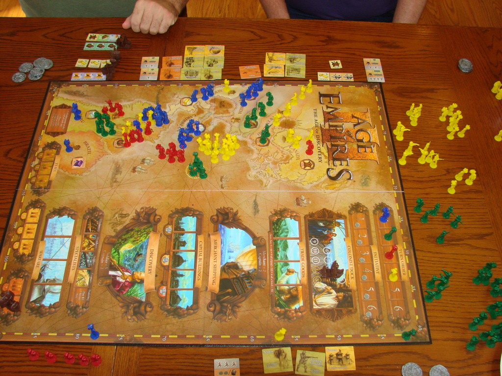 Age Of Empires Iii Is Reborn As Empires Age Of Discovery: What Are The Best Board Game Adaptations Of Video Games