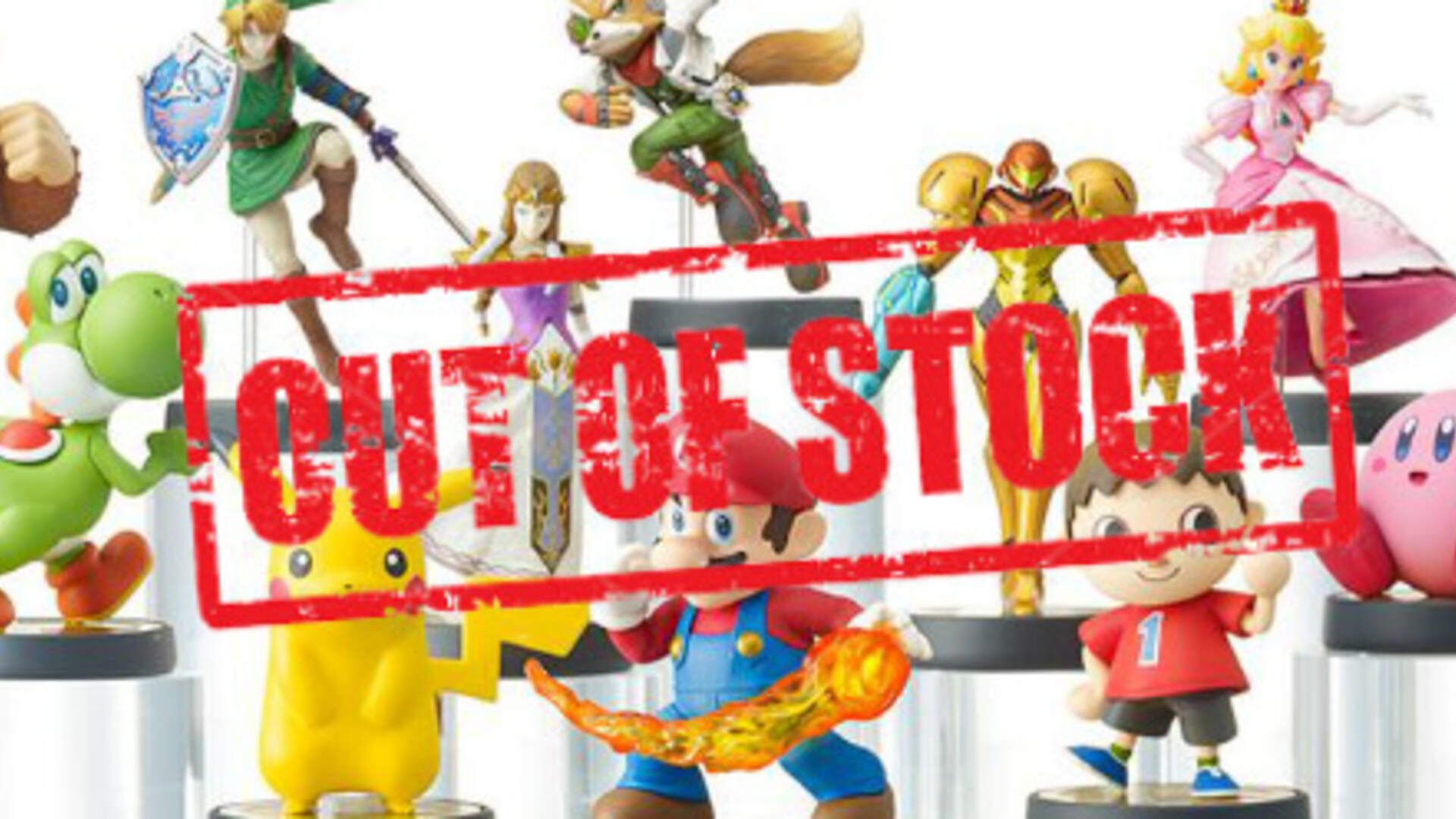 Nintendo's Amiibo Problem: Low-Stock, Scalpers, and Poor Communication