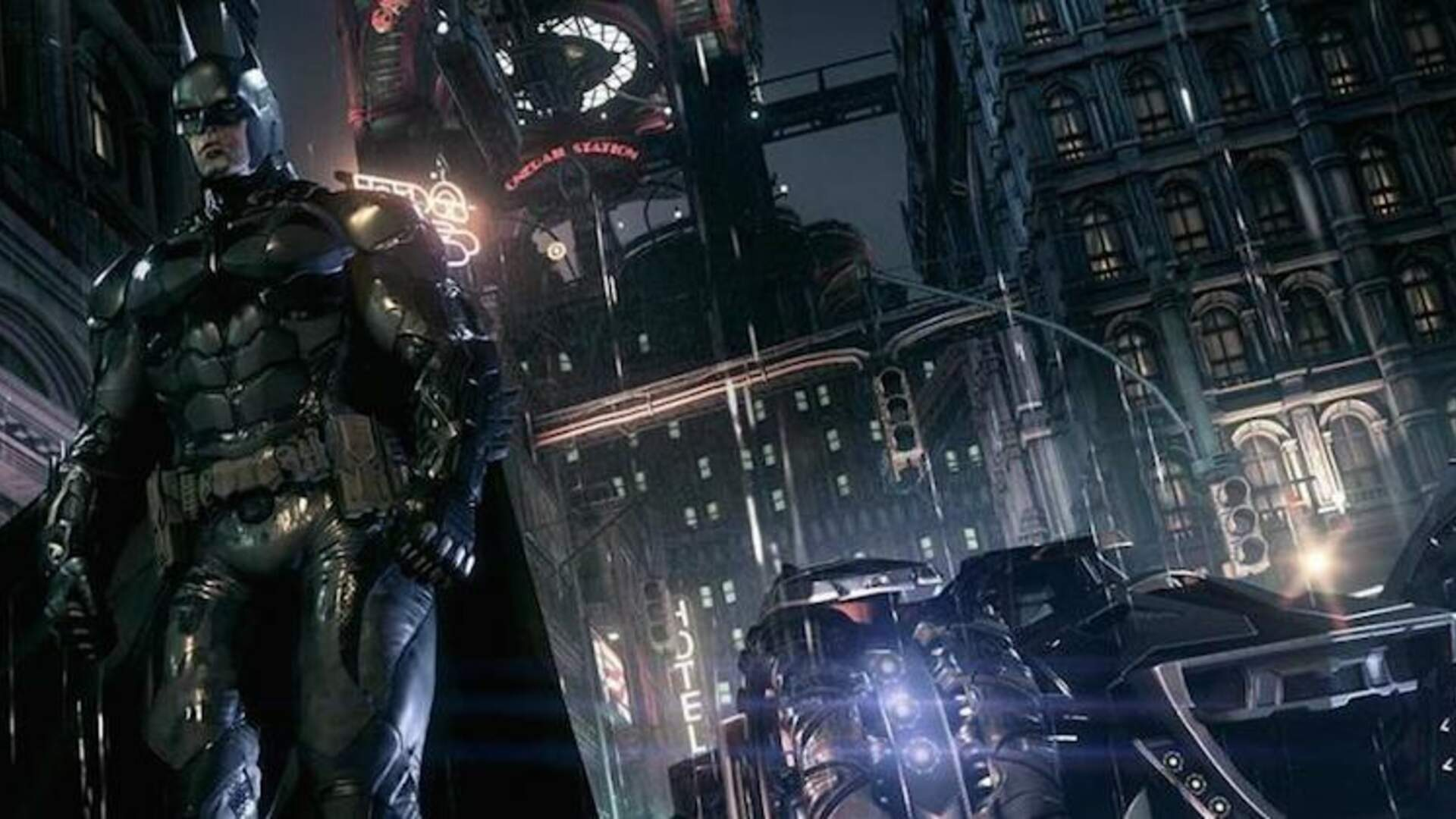 How the Batmobile Opens Up Arkham Knight's Next-Gen Gotham