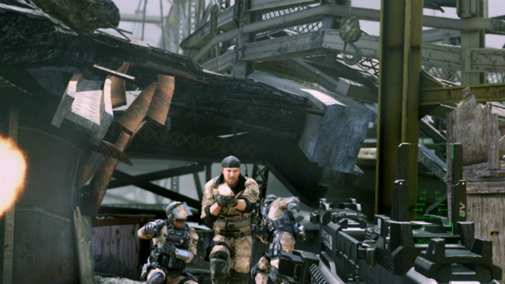 Call of Duty Ghosts Adds Snoop Dogg and R. Lee Ermey Announcer DLC