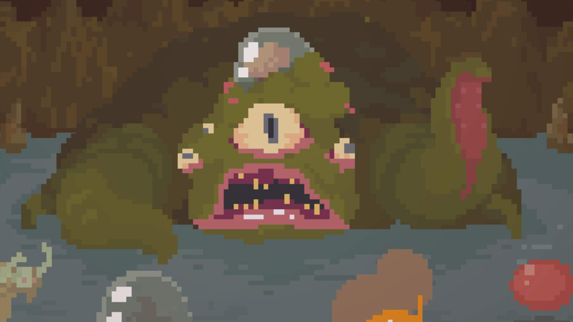 Be the Dungeon in Asymmetrical Competitive Roguelike Crawl