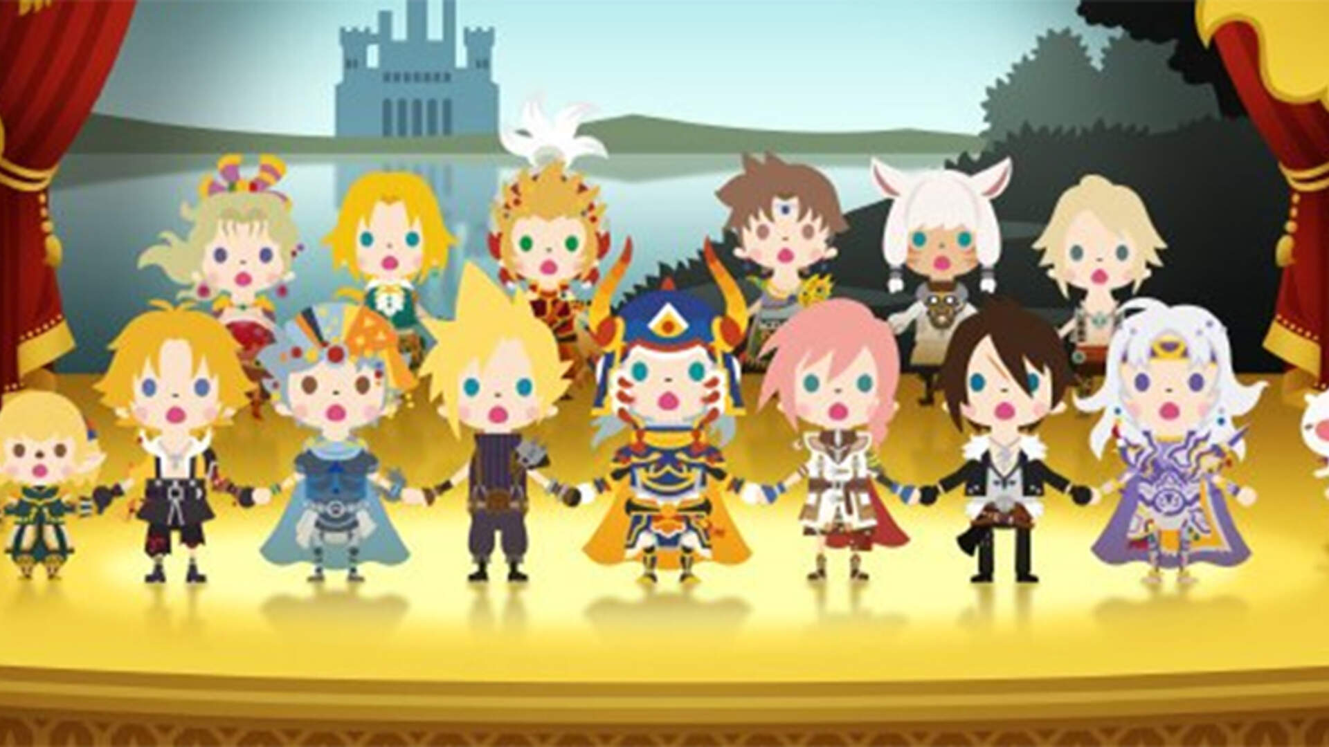 Theatrhythm Final Fantasy: Curtain Call 3DS Review: Nostalgia Delivery Device