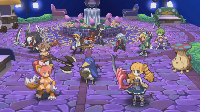 Disgaea 4 x dimension prizes for ugly sweater