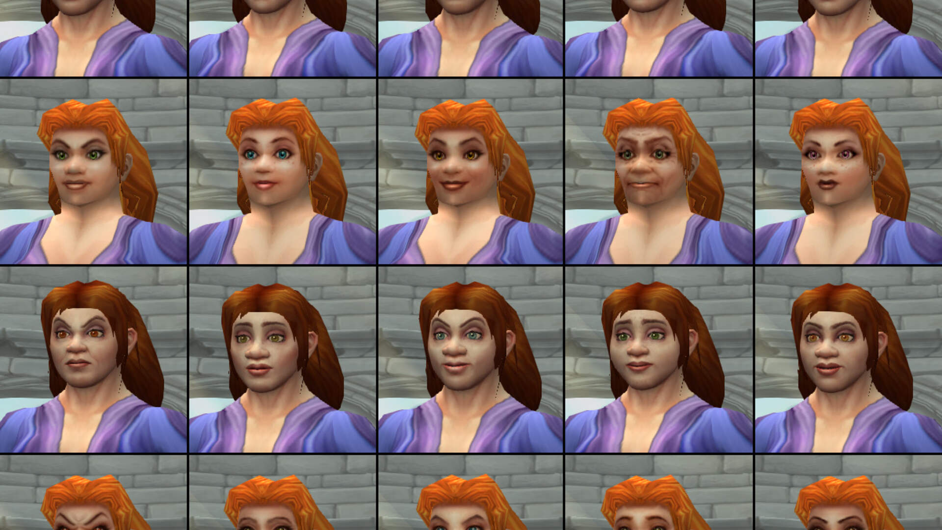 The Changing Faces of World of Warcraft