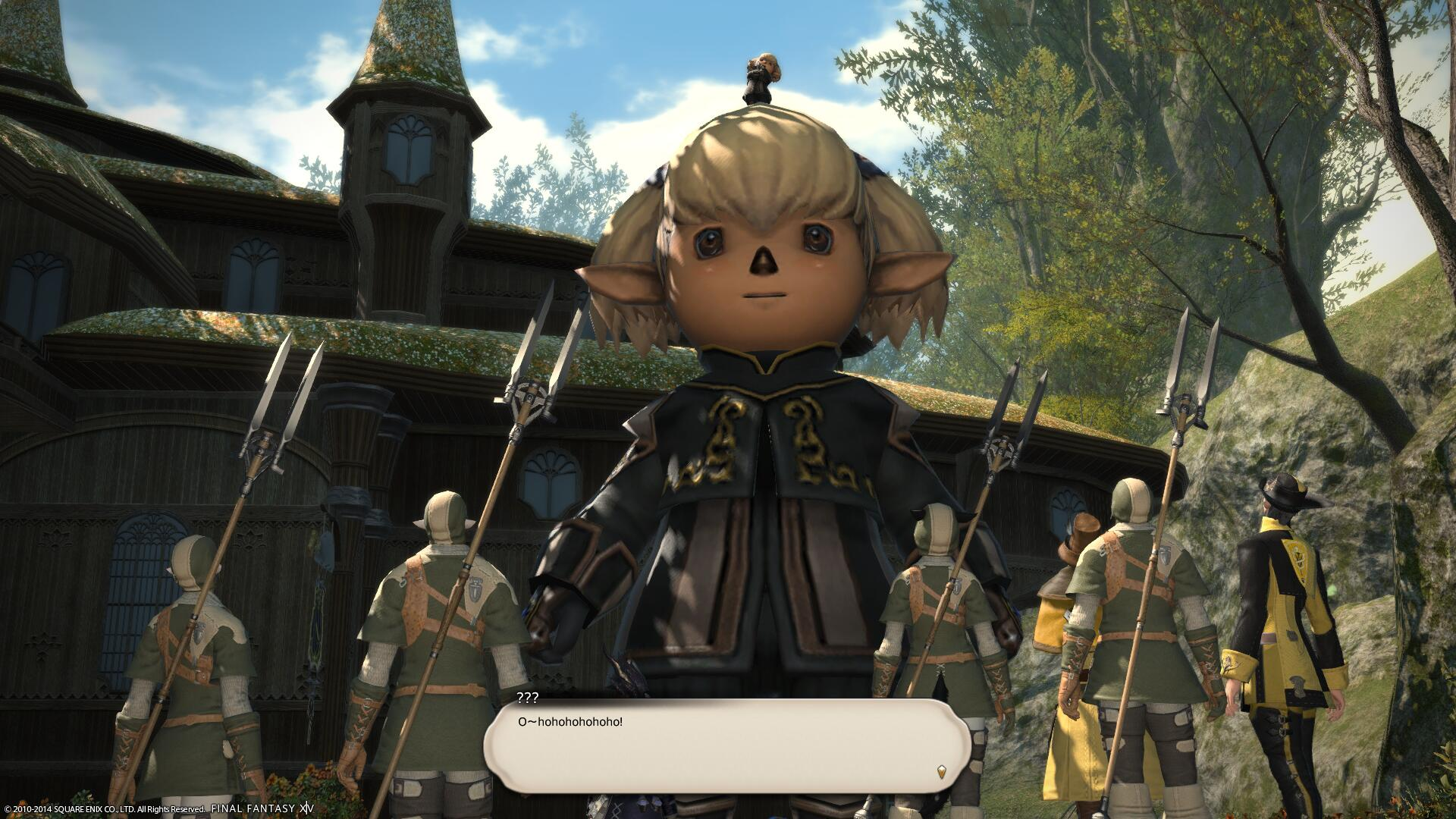 Final Fantasy XIV Guide: Dragon Quest and FF XI Event
