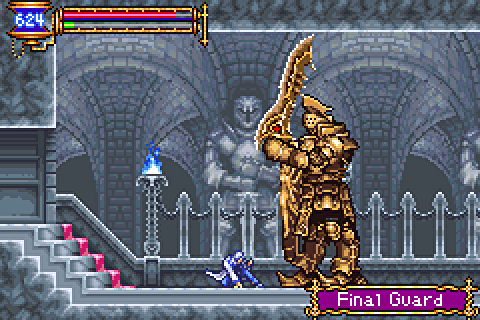 castlevania aria of sorrow rom ds