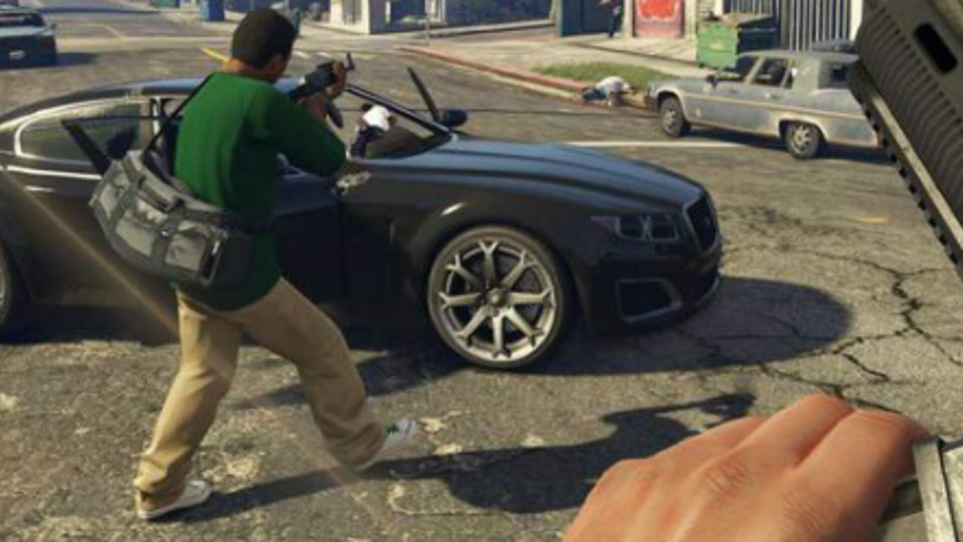 GTA V's First-Person Mode Highlights the Thin Line Between Open-World Games