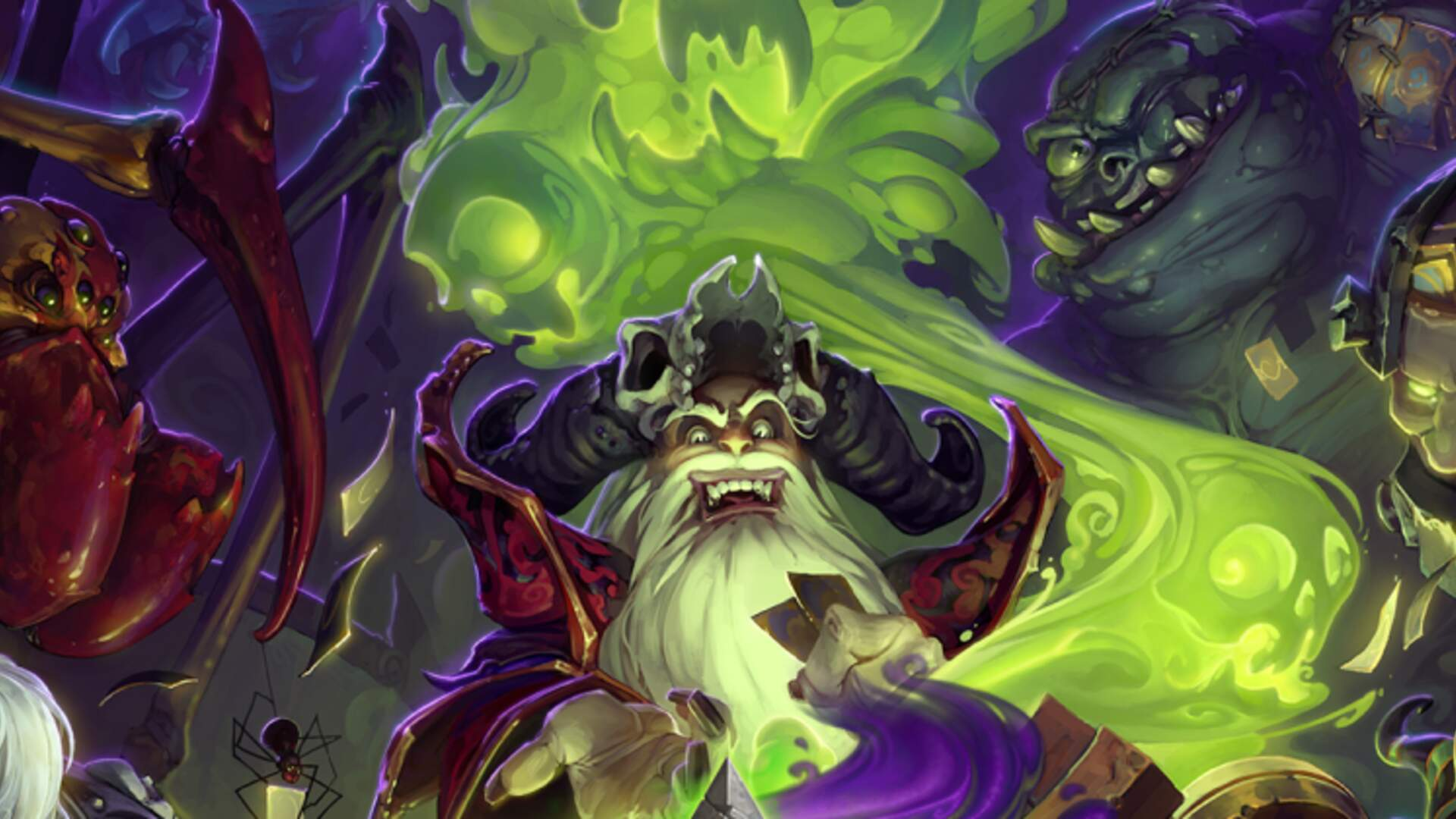 Hearthstone's First Single-Player Adventure Mode Announced